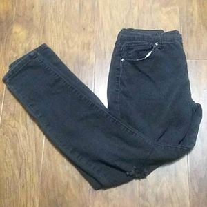 Forever 21 Black Distressed Jeans Size 27